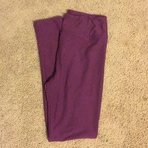 LuLaRoe OS leggings - solid